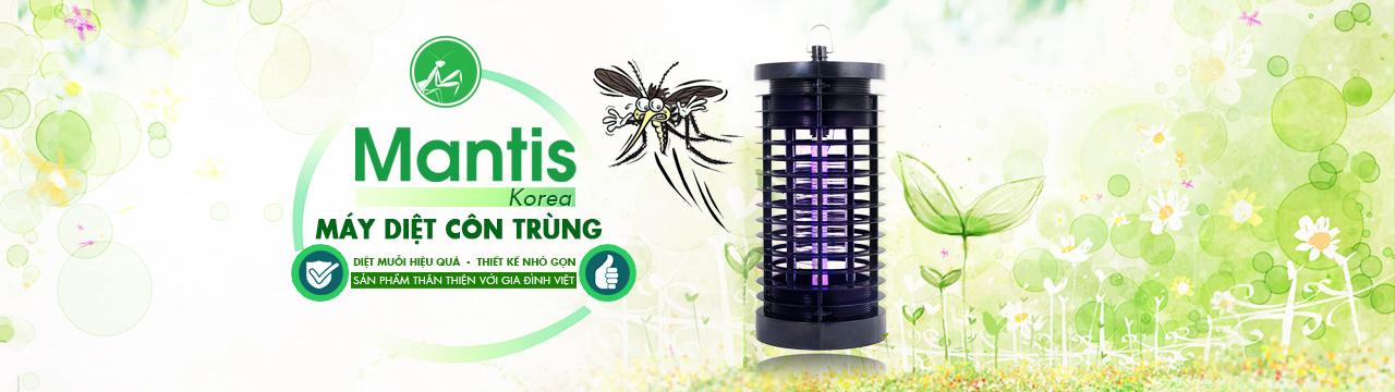 Đèn bắt muỗi Mantis